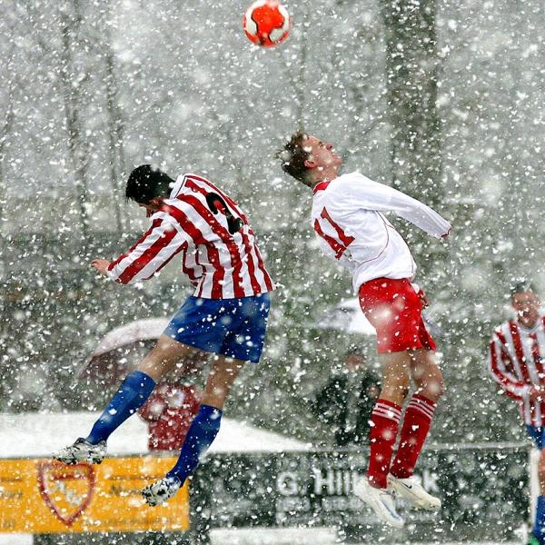 Sportfotograaf, voetbal